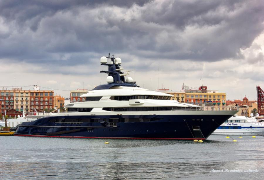 Chinese Media Claims To Know The Owner Of 91 5m Equanimity Yacht