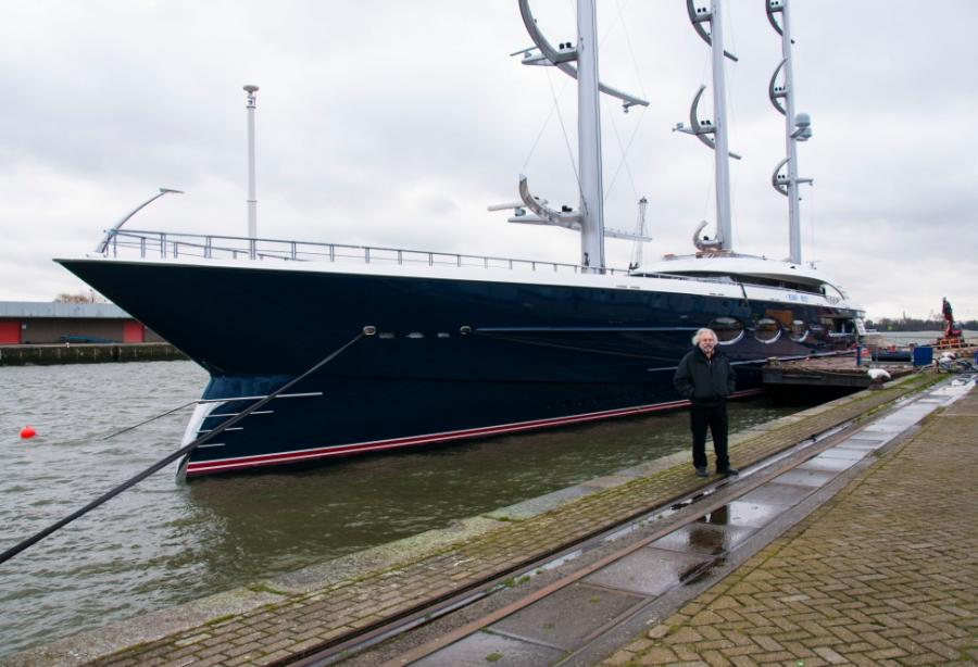 The full story behind the build of 106m Black Pearl - Yacht Harbour