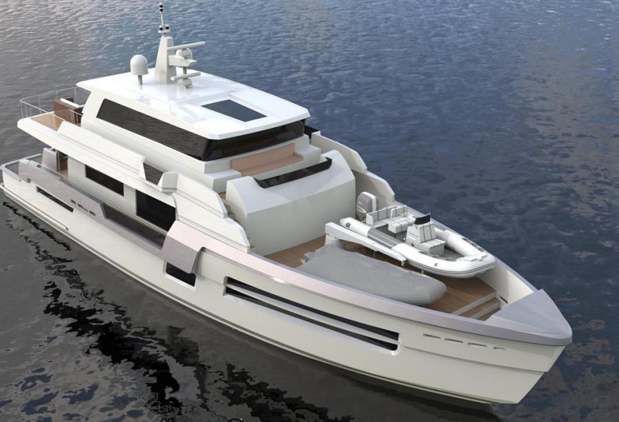 H A R D Creates Reinforced Yacht Concept For Arctic Exploration