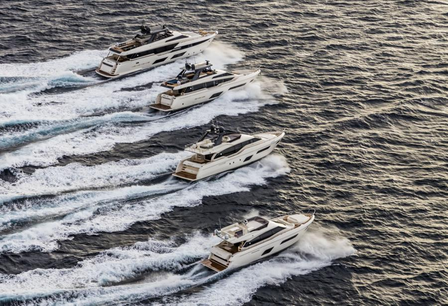 Ferretti Yachts to celebrate their 50th anniversary in Venice