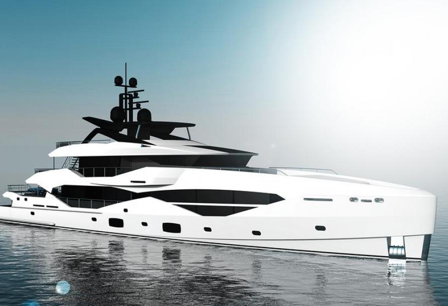 Sunseeker Teams Up With Icon Yachts For A New 49 Metre Superyacht