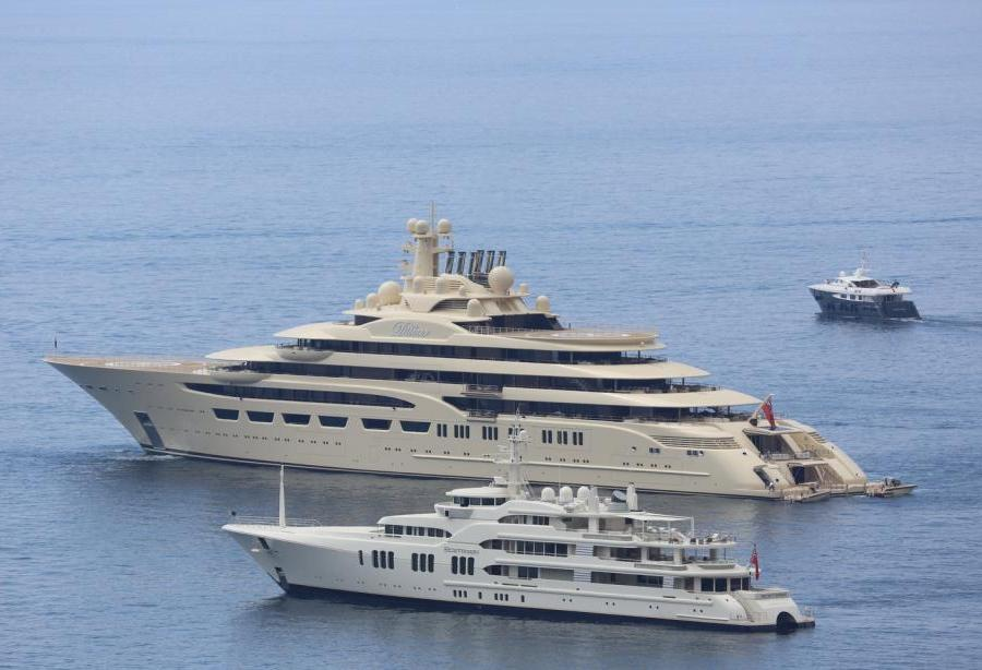 110m Ex Dilbar Ona Sold And Renamed By New Owner Yacht Harbour