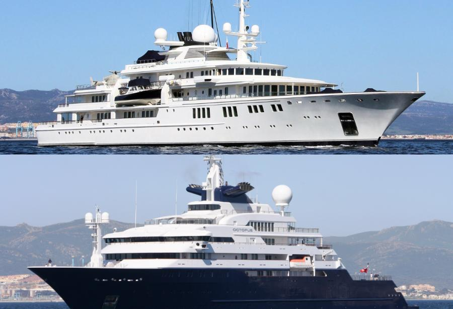 Paul Allen Owner Of The 92m Tatoosh And 126m Octopus Passes Away