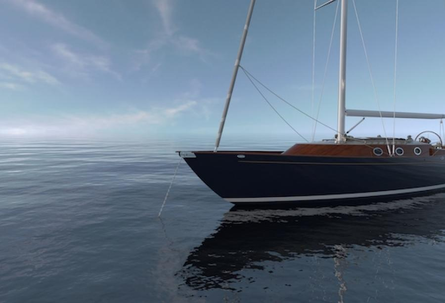 Eco yachting redefined: brand new electric sailing yacht by Spirit Yachts