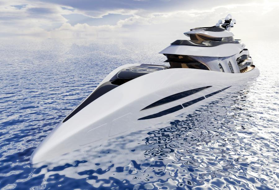 10 offbeat superyacht design concepts that have never been built - Yacht Harbour