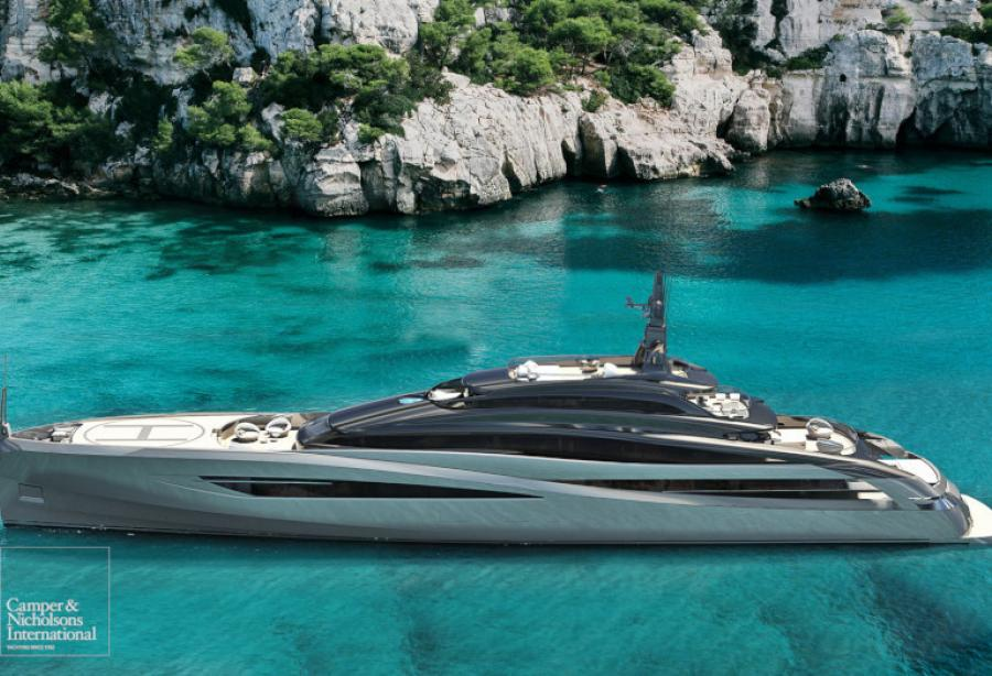 Rossinavi and Camper and Nicholsons presented new superyacht concept