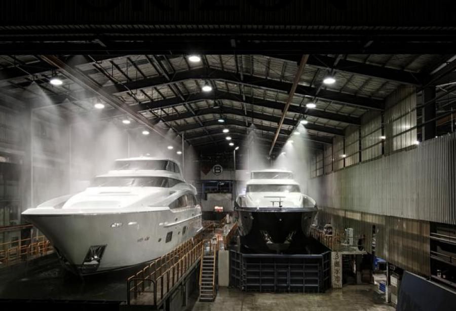 Two new Horizon PR110 units nearing completion - Yacht Harbour
