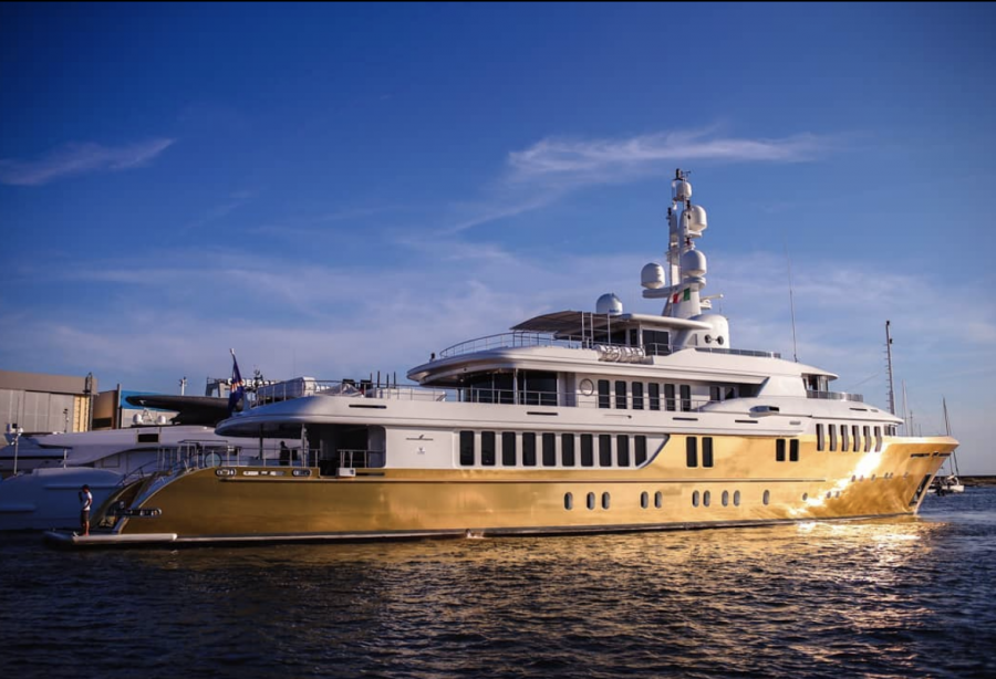 Golden Age Eur 18 Million Superyacht Belami Wrapped In 600 Sqm Of