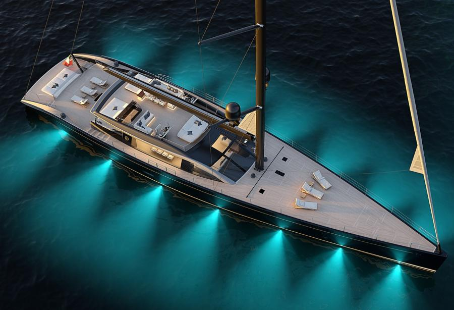 Perini Navi sells first 47m E-volution sailing yacht