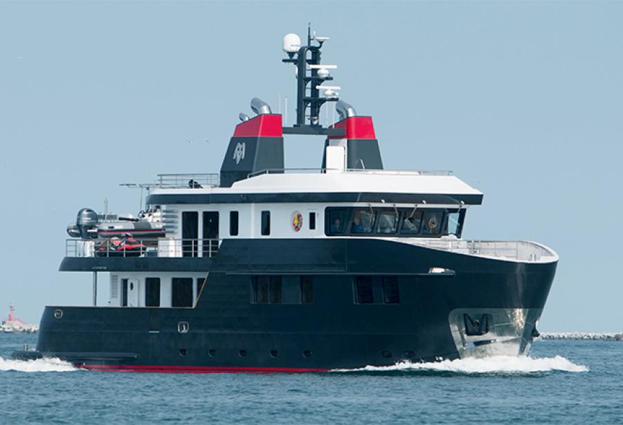 Ocean King 100 delivered - Yacht Harbour