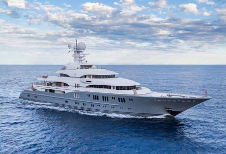 Top 10 largest yachts at the Monaco Yacht Show 2016