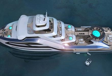 Inspiring Superyacht Concept: Icon Selazzio 95 Sea Palace