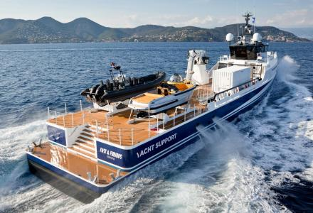 Damen Yacht Support vessel Fast & Furious sold