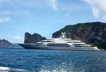 140m Ocean Victory spotted in Thailand