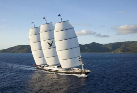 The battle for the title of largest sailing yacht in the world