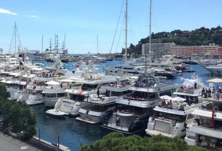 Chartering a yacht for the Monaco Grand Prix