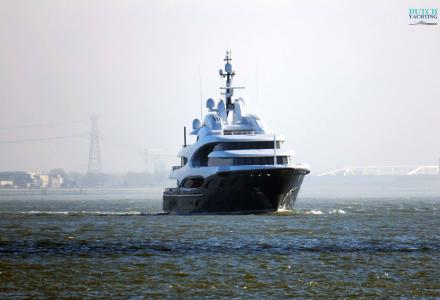 Oceanco Y715 superyacht Barbara delivered
