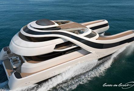 Guido de Groot Design introduces yacht concept for Chinese elite