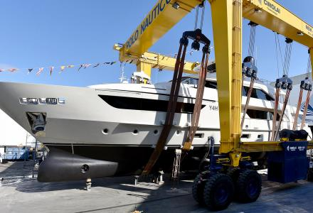 Three launches in one week at Sanlorenzo