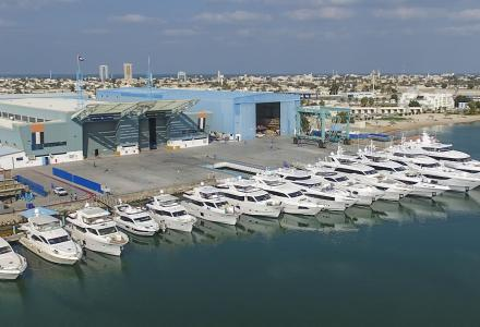 Gulf Craft brings over AED 300 million worth of yachts to DIBS