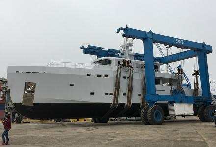 Tansu Yachts launch 38.4m yacht Highlight