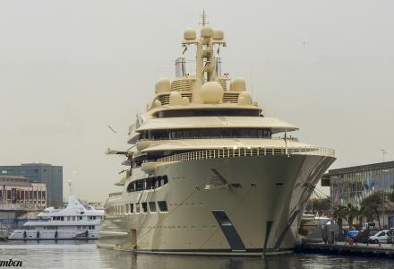 Dilbar as one of the main attractions in Barcelona