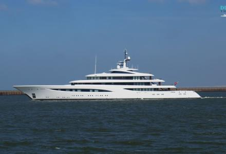 Feadship delivers 92m superyacht Vertigo