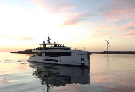 Feadship launches 35m Letani for a Far East client