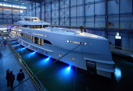 Heesen Yachts Project Nova launched and named Home