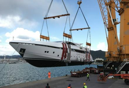 CCN launches 50m superyacht Elsea