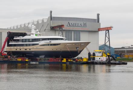 Amels launches 55m superyacht Lili