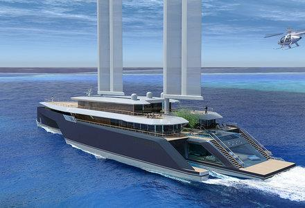 Komorebi-the future of sailing megayachts