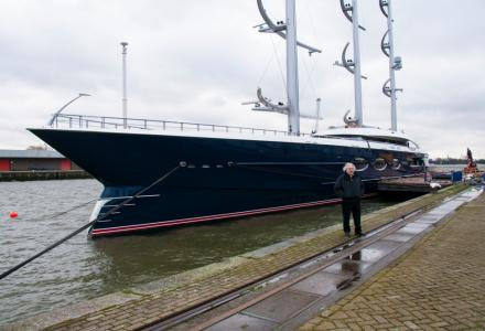 The full story behind the build of 106m Black Pearl