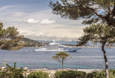 Amadea spotted in the French Riviera