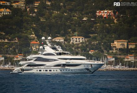 Lionheart spotted in Cap Ferrat, France