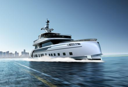 Dynamiq introduces first superyacht in collaboration with Porsche