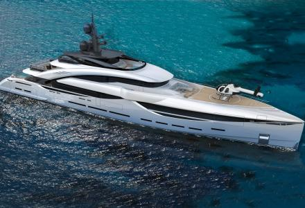 ISA Yachts and Team For Design introduce GT67 project