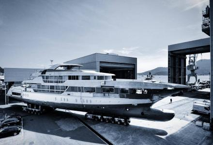 Second Sanlorenzo 52Steel nears completion