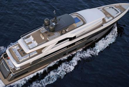 Navetta 42 under construction at Custom Line