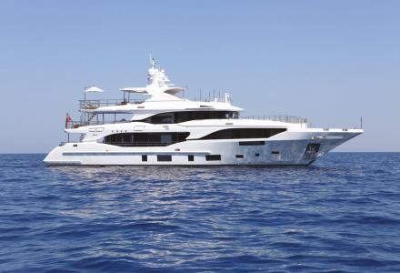 Benetti unveils more details about 33m superyacht Oli
