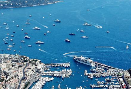Over €2 billion worth of yachts attend Formula 1 in Monaco