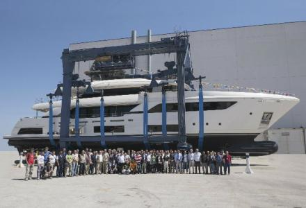 Third Navetta 37 launched in Ancona