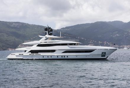 Baglietto launches 48m superyacht for a Mexican owner