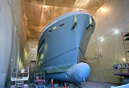 Burger Boat Project Northland one step closer to her launch