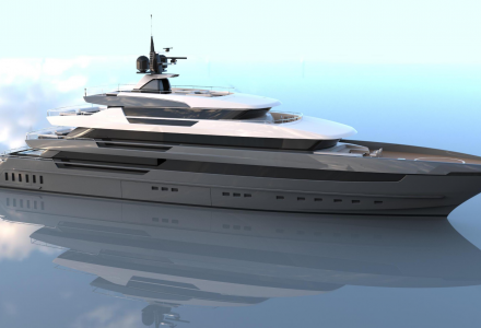 Sanlorenzo releases first official pictures of 64Steel yacht