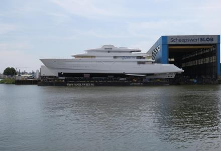 Technical launch of Feadship project 700 hull