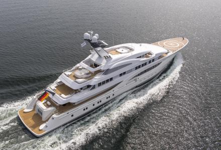 Lurssen's Areti to be displayed in Monaco