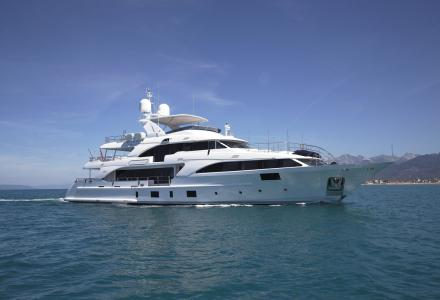Benetti delivers Classic 121' yacht Lady Lillian