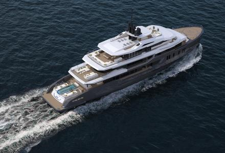 68m superyacht Day's construction progressing well