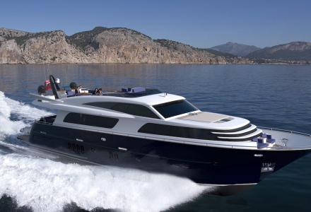 Van der Valk delivers 26m yacht Forum
